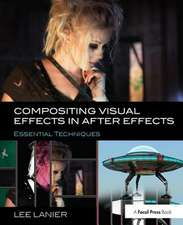 COMPOSITING VISUAL EFFECTS IN AFTER