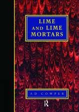 Lime and Lime Mortars