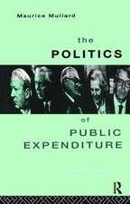 Politics of Public Expenditure