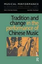 Tradition & Change Performance