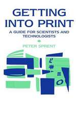 Getting into Print