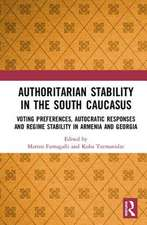 Authoritarian Stability in the South Caucasus