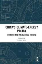 CHINA S CLIMATE ENERGY POLICY MOR