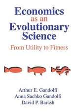 ECONOMICS AS AN EVOLUTIONARY SCIENC