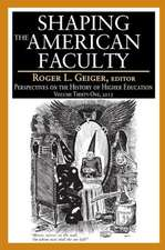 Shaping the American Faculty