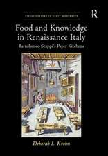 FOOD AND KNOWLEDGE IN RENAISSANCE I