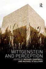 WITTGENSTEIN AND PERCEPTION PBDIR