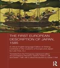 The First European Description of Japan, 1585