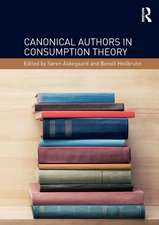 Canonical Authors in Consumption Theory