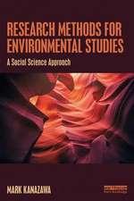 Research Methods for Environmental Studies