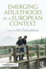 Emerging Adulthood in an European Context:  The Science of Meditation and Wellbeing