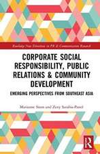 Corporate Social Responsibility, Public Relations & Community Development