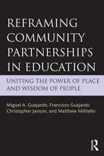 Reframing Community Partnerships in Education