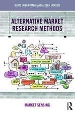 Alternative Market Research Methods