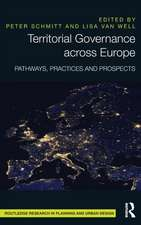 Territorial Governance Across Europe:  Pathways, Practices and Prospects