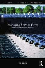 Managing Service Firms
