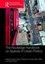 HANDBOOK ON SPACES OF URBAN POLITIC