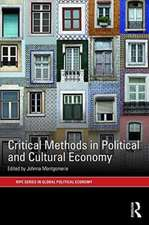 Critical Methods in Political and Cultural Economy