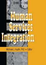 HUMAN SERVICES INTEGRATION