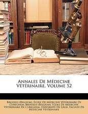 ANNALES DE M DECINE V T RINAIRE, VOLUME