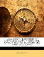 LES ANCIENNES FAIENCERIES DE MONTAUBAN,