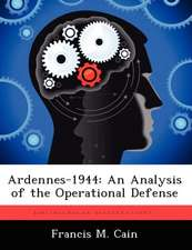 Ardennes-1944: An Analysis of the Operational Defense