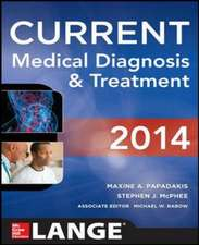 Current Medical Diagnosis and Treatment: Lange