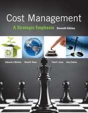 Loose-Leaf for Cost Management:  A Strategic Emphasis
