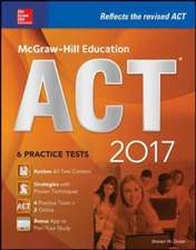 McGraw-Hill Education ACT 2017 edition