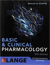 BASIC AND CLINICAL PHARMACOLOGY, 14E