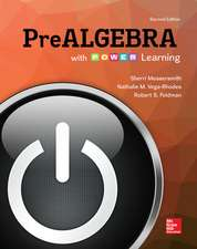 Loose Leaf Version Prealgebra with P.O.W.E.R. Learning
