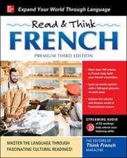 Read & Think French, Premium Third Edition