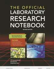 The Official Laboratory Research Notebook (75 Duplicate Sets)