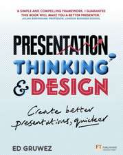 Presentation Thinking and Design