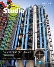 Studio Edexcel GCSE French Foundation Student Book
