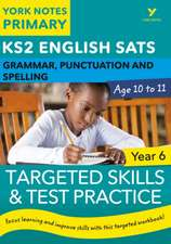 English SATs Grammar, Punctuation and Spelling Targeted Skil