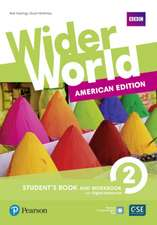 Wider World AmE 3 Student Book & Workbook for Pack