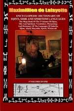 Encyclopedic Dictionary of Djinn, Sihr and Spiritism Languages