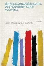 Entwicklungsgeschichte Der Modernen Kunst