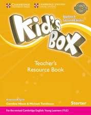 Kid's Box Starter Teacher's Resource Book with Online Audio American English