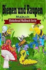 Bienen Und Raupen Malbuch