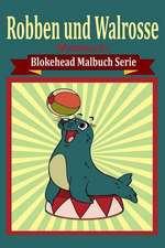 Robben Und Walrosse Malbuch