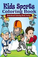 Kids Sports Coloring Book