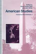 American Studies: Essays in Honour of Marcus Cunliffe