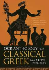 OCR Anthology for Classical Greek AS and A Level: 2021–2023