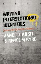Writing Intersectional Identities: Keywords for Creative Writers