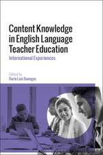 Content Knowledge in English Language Teacher Education: International Experiences