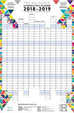 The Palgrave Academic Wall Planner 2018-19