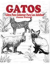 Gatos Libro Para Colorear Para Los Adultos
