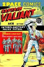 Space Comics Starring Captain Valiant